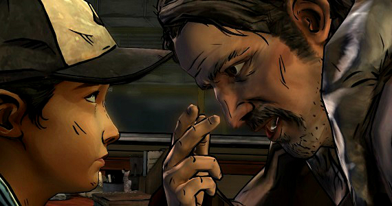 Clementine-and-Carver-in-The-Walking-Dead-In-Harms-Way1